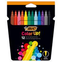 BIC Kids Color Up! Kleurstiften, 12st.