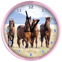 Wandklok Paarden, 25cm