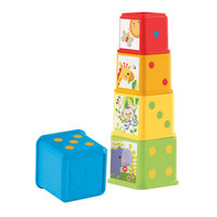 Fisher Price Stapel- en Leerblokken
