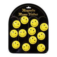 Memomagneten Smiley, 12st.