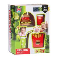 Fastfood Hamburger Speelset, 15dlg.
