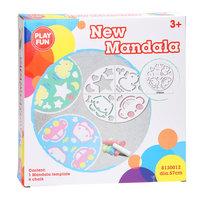 Stoepkrijt Mandala