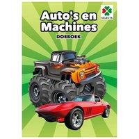 Auto's en Machines Doeboek
