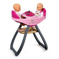 Smoby Baby Nurse Babystoel voor 2 Poppen