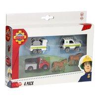 Brandweerman Sam Voertuigenset, 4st. - Paarden