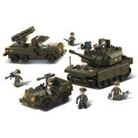 Sluban Tank + Raketwerper + Jeep