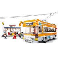 Sluban Lijnbus met Busstation