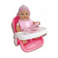 Baby Rose Babyset 3in1 met Pop, 30cm
