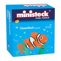 Ministeck Pixel Puzzel - Clownvis, 500st.