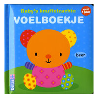 Baby's Knuffelzachte Voelboekje Vanaf 1 Jaar