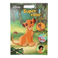 Disney Super Color Kleurboek met Stickers