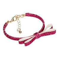 Armband Glitter Strik Roze