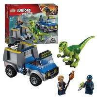 LEGO Juniors Jurassic World 10757 Raptor Reddingsauto