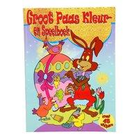 Groot Paas Kleur- en Speelboek met Stickers