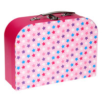 Koffertje met Slot - Sterren Roze