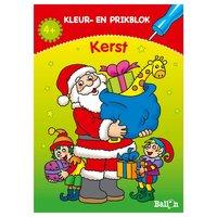 Kerst Kleur- en Prikblok