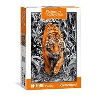 Clementoni Platinum Puzzel Tijger, 1000st.