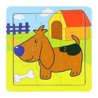 Houten Puzzel Hond