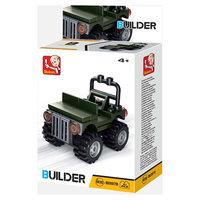Sluban Builder 4 - Legerauto