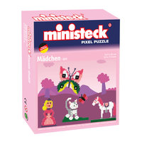 Ministeck Pixel Puzzel - Prinses, 500st.