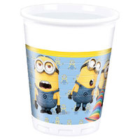 Minions Bekers, 8st.