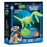 Geoworld Glow in the Dark Bouwset - Velociraptor