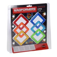 Magformers Set Vierkant, 6dlg.