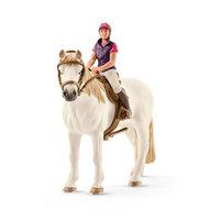 Schleich Amateur Ruiter met Paard