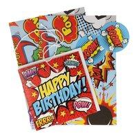 Inpakset Comic Design, 5dlg.