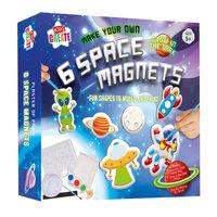 Maak je eigen Ruimte Magneten, 6st.