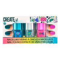 Create It! Nagellak Glitter, 3st.