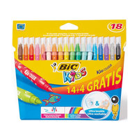 BIC Kids Kid Couleur, 14 + 4st. gratis