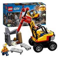LEGO City 60185 Krachtige Mijnbouwsplitter