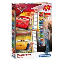 Clementoni Meetlat Puzzel Cars, 30st.