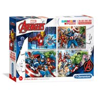 Clementoni Puzzel The Avengers, 4in1