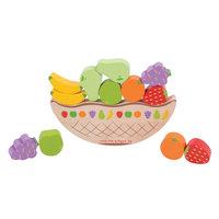 Houten Balansspel Fruit