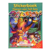 Stickerboek Dieren in het Bos - Verdwaald in het Bos