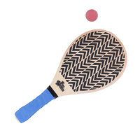 Strand Tennis Set Hout