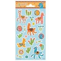 Stickervel Alpaca's