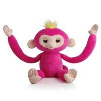 Fingerlings HUGS - BELLA Interactieve aap knuffel, 40cm
