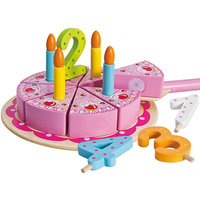 Eichhorn Houten Verjaardagstaart, 18dlg