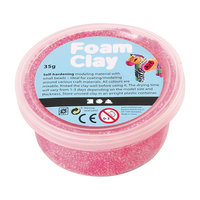 Foam Klei - Neon Roze, 35gr.
