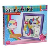 String Art Eenhoorn