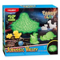 Sandy Clay Glow in the Dark - Jurassic Valley