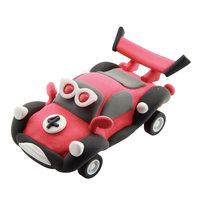 Super Dough Raceauto - Rood