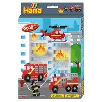 Hama Strijkkralenset Brandweer, 2000st.