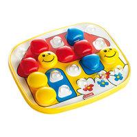 Quercetti Fantacolor Baby Insteekmozaïek Huis