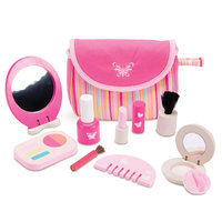 Houten Make-up Set Roze