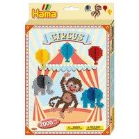 Hama Strijkkralenset Circus, 2000st.