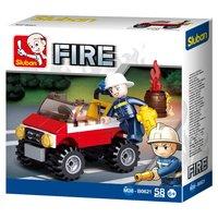 Sluban Brandweer Jeep
